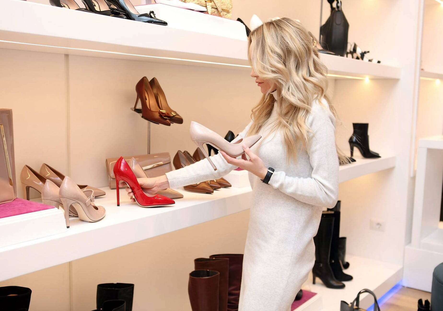 Picking out the right high heels