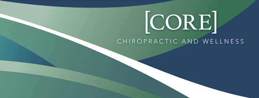 Core chiropractic and wellness logo.