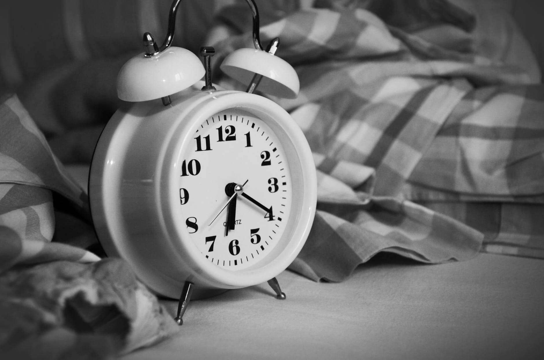 What to do after your alarm goes off.