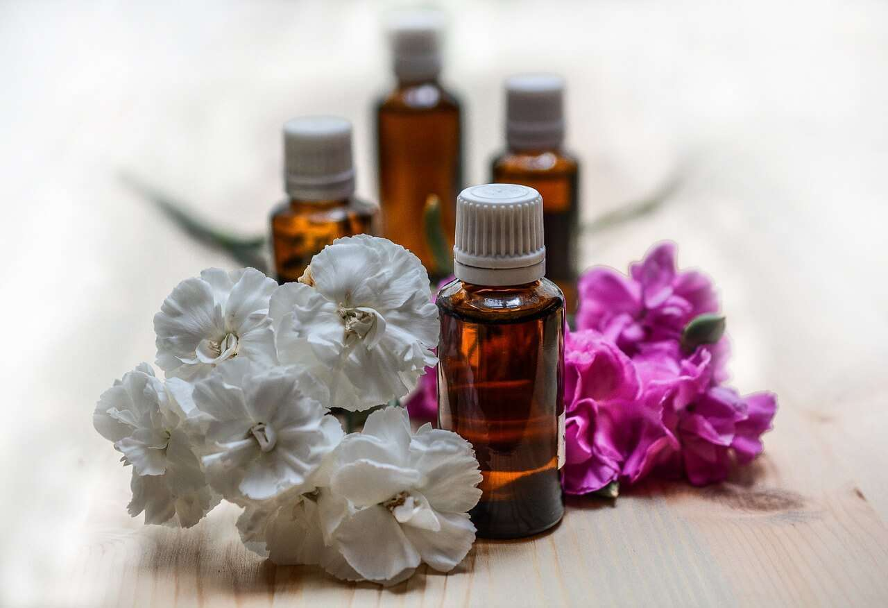 A few different essential oils that are used to help with opiate withdrawal.