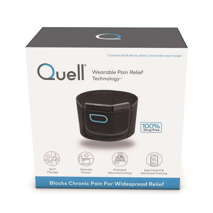 Quell Starter Kit provides effective pain relief.