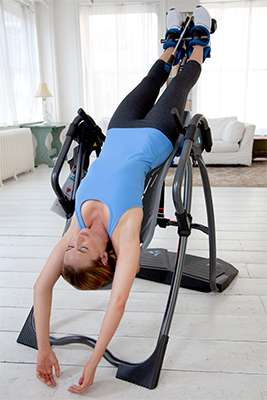 Teeter FitSpine in-use.