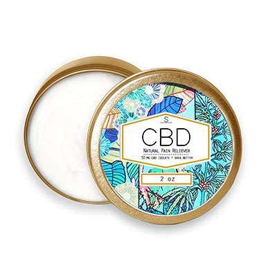 Shea Brand's CBD Natural Pain Reliever